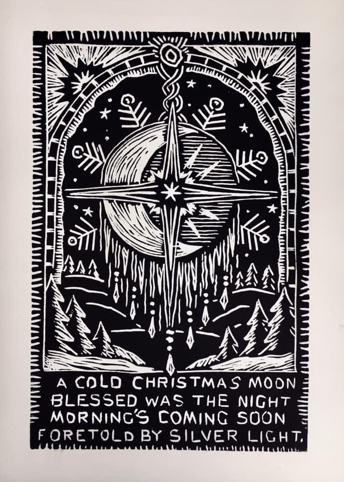 Cold Christmas Moon